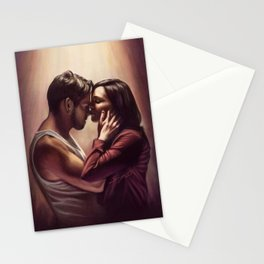 Outlaw Queen Nose Kiss Stationery Cards