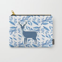 Deer in the flower pattern Carry-All Pouch