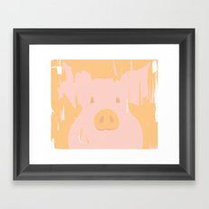 Little piglet Framed Art Print