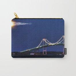 Newport Bridge at twilight- Newport, Rhode Island Carry-All Pouch