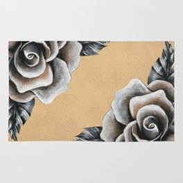 A Rose For My Love Rug