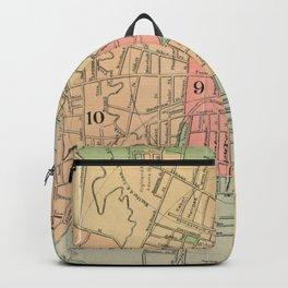 Vintage Map of Hartford Connecticut (1903) Backpack