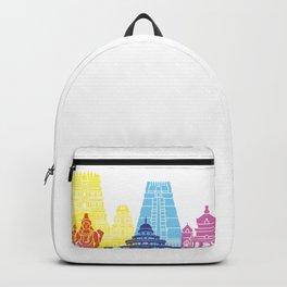 Bangalore skyline pop Backpack
