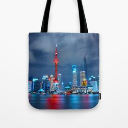 Shangai, China Tote Bag