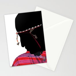 Maasai Man Stationery Cards