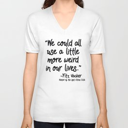 Fan-favorite Fitz Quote Unisex V-Ausschnitt