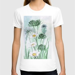 Thistles and Daisies T-shirt