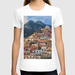 Positano, ITALY #SOCIETY6 #DECOR #BUYART T-shirt