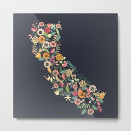 Beauty in Cali Metal Print