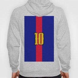 football team 1 number ten Hoody
