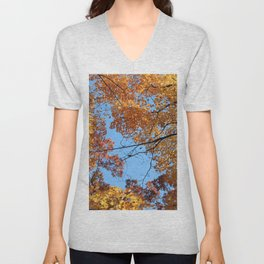 Amazing Autumn Sky!! Unisex V-Neck