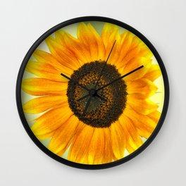 BRIGHT SUNFLOWER Wall Clock