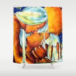 Water Goddesses Shower Curtain