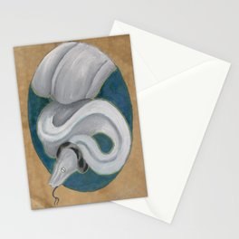 Dwarf boa Stationery Cards