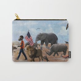 Wrong Way Out Carry-All Pouch