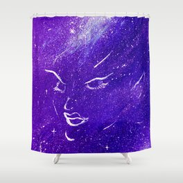 Space Elf Shower Curtain