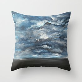 The Sun is Coming (Lista) by Gerlinde Throw Pillow