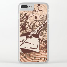 Guitar Art Clear iPhone Case