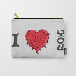 I LOVE YOU // VALENTINE GIFT Carry-All Pouch