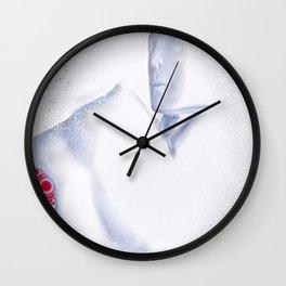 Almost Human Wall Clock