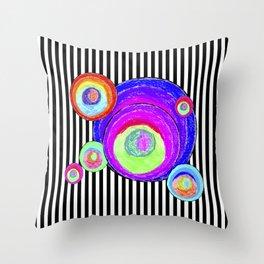 My inner secret geometry | by Elisavet #society6 Throw Pillow