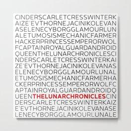 Type: Lunar Chronicles Metal Print