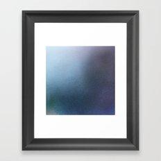 Blue Sea Abstract Framed Art Print