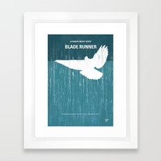 No011 My Blade Runner minimal movie poster Framed Art Print