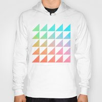 gradient Hoodies featuring Gradient by Fimbis