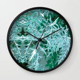Textured Rorschach Wall Clock