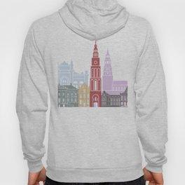 Groningen skyline poster Hoody