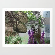 Worth Two In The Bush Art Print