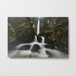 Elowah Falls, Horizontal Metal Print