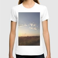 hiking T-shirts featuring Hiking Whittier by Uptilted Sparrow Photography