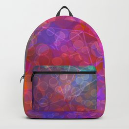 Colorful Untitled Abstract Backpack