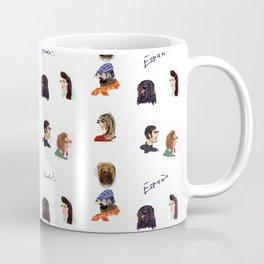 Faces of Spain Coffee Mug