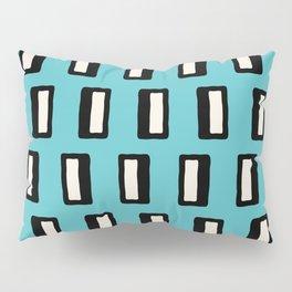 Chad Pattern Turquoise 2 Pillow Sham