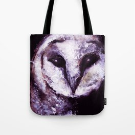 Barn Owl Painting by Lil Owl Studio Tote Bag