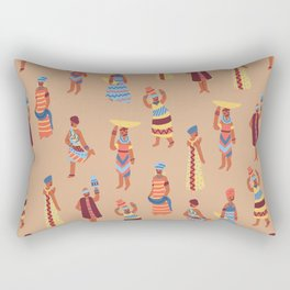 Nigerian Girls Rectangular Pillow