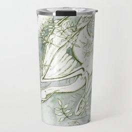 Chaudeleau the Green Marsh Dragon Travel Mug