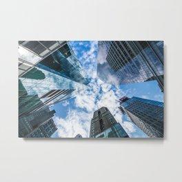 New York Skyscrapers Metal Print
