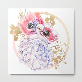 Every Peacock Wants A Lovely Peahen Metal Print