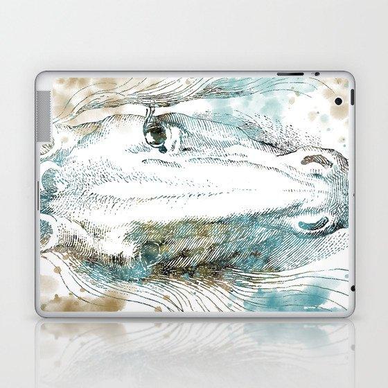 Watercolor Horse Laptop & iPad Skin