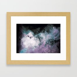 Soaked Chroma Framed Art Print