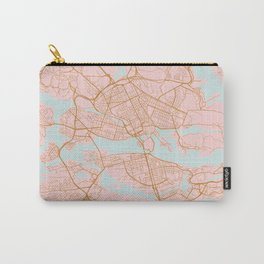 Stockholm map, Sweden Carry-All Pouch