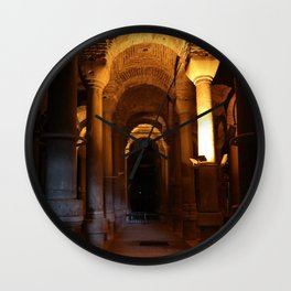 Istanbul. Basilica Cistern Wall Clock