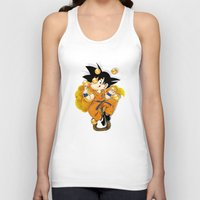 goku Tank Tops featuring Goku by Ana del Valle Store