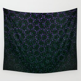 Enchanted Forest Mandala Wall Tapestry