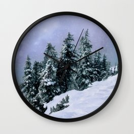 Hidden Peak Wall Clock