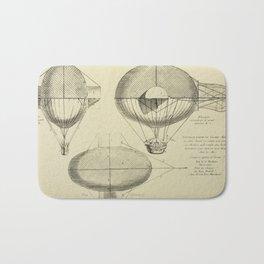 Mathieu's Airship Project Bath Mat